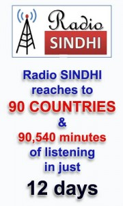Radio SINDHI in 90 countries